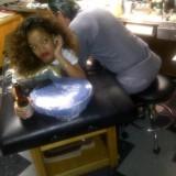 Певица Рианна набила новые татуировки (Rihanna tattoo)