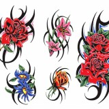 Татуировки дракона, татуировки цветы татуировки-эскизы