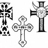 Тату креста