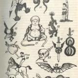 Тюремные татуировки иностранцев и наколки «Триады»