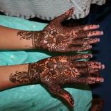 Временные татуировки на руках (менди) — 34 фото
