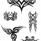 Татуировки трайбл — 19 фото