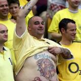 Спортивные татуировки фанатов — 82 фото