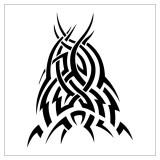 Татуировки эскизы трайбл (tribal tattoo) — 30 фото