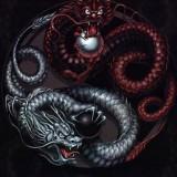 Эскизы и фото: татуировки дракон