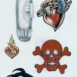 Эскизы татуировок: тату крылья и татуировки бабочки