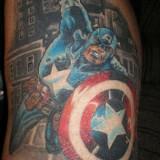 Татуировки Капитан Америка — 36 фото