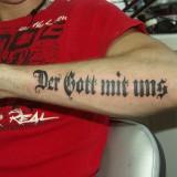 Тату надписи (letter tattoo) — 43 фото