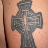 Кельтский крест — татуировки