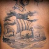 Татуировки драккар — 24 фото