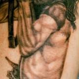 Лица татуировки