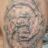Татуировки ящерицы на теле — 26 фото