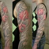 Татуировки цветов на теле — 21 фото