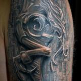 Татуировки биомеханика — 30 фото