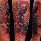 Необычные татуировки — 16 фото