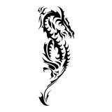 Эскизы татуировок: дракон — 31 фото
