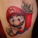 Татуировки Марио — 5 фото