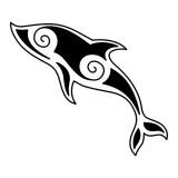 Эскизы: татуировка дельфин — 12 фото