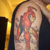 Татуировки: железный человек (iron man) — 30 фото