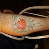 Татуировки: баскетбол — 34 фото