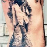 Татуировка Боба Марли (фото)