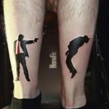 Татуировка с Джеймсом Бондом