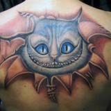 Кот-татуировка — фото