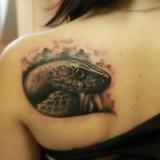 Татуировки змей — 3 фото