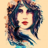 Женские красивые эскизы-татуШки — 7 фото