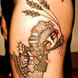 Татуировки графики — 6 фото