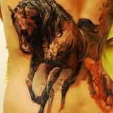 Татуировки лошадей — 6 фото