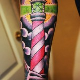 Татуировка-маяк — 7 фото