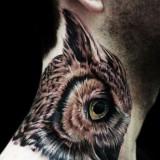 Красивые татуировки на шее — 8 фото
