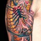 Татуировки черепов и рисунки на кулаках — 13 фото