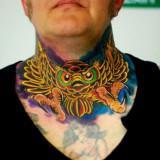 Татуировки совы — 11 фото