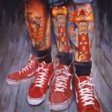Картины с татуированными — 5 фото