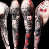 Татуировки Трэш Полька — 15 фото