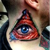 Татуировка: Всевидящее око — 6 фото