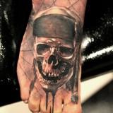 Татуировки на ступнях — 6 фото