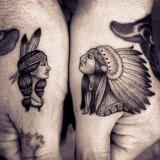 Татуировки индейцев — 6 фото