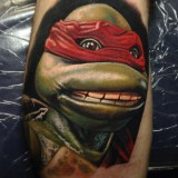 Татуировка черепашки ниндзя