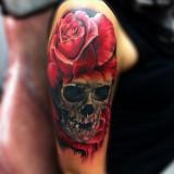 Татуировки на плече — 6 фото