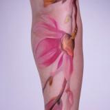 Татуировки акварелью — 7 фото