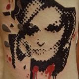 Точечные татуировки — 4 фото