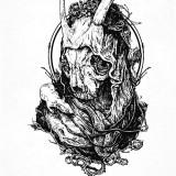 Эскизы черепов — 12 фото