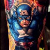 Татуировки комиксов — 8 фото