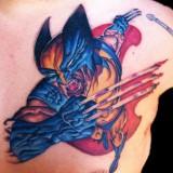 Татуировки Марвел: Росомаха