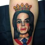 Татуировка Майкла Джексона