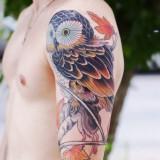 Татуировки сов — 9 фото