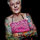 Бабушки в татуировках — 6 фото